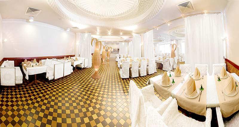 Интерьер свадебного зала фото